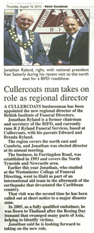 Cullercoats man takes on role as regional director
