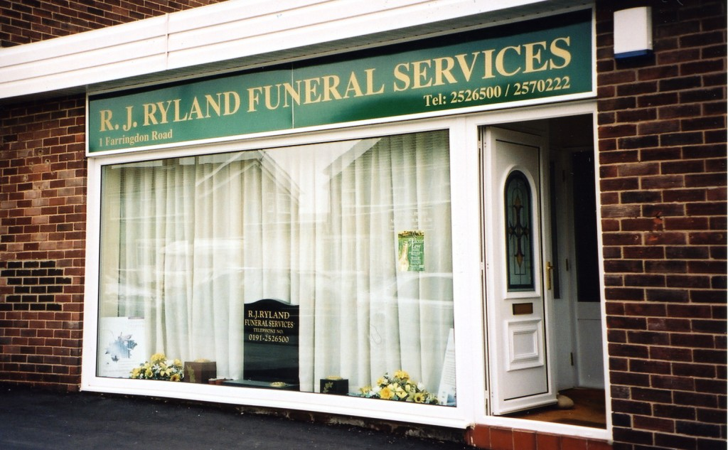 R.J. Funeral Services, Cullercoats.